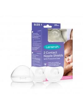 Lansinoh ® Contact rinnanibukaitsmed (20mm / 24mm) SUURUS 1
