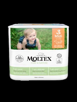 Mähkmed Moltex Nature Nr3 (4-9kg) 33tk