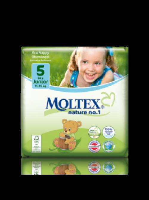 Mähkmed Moltex Nature Nr5 (11-27kg) 26tk