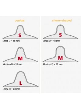 Mamivac® Contact rinnanibukaitsmed (kirsikujuline S/M)