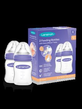 Lansinoh ® komplekt pudelid (160ml) ja toitmislutid S(2tk)